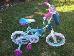 """NEW Disney Frozen bike w/ 12 1/2"""" wheels"""