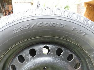 4 GM Winter Tires on Rims - Reduced Cambridge Kitchener Area image 8