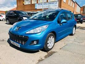 2012 62 Peugeot 207 SW 1.6 HDi 92 Active