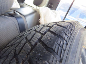 Toyo Observe G-02 Plus Winter Tires on Rims - 215/65R16