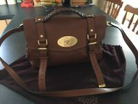 Genuine Alexa mulberry bag never used