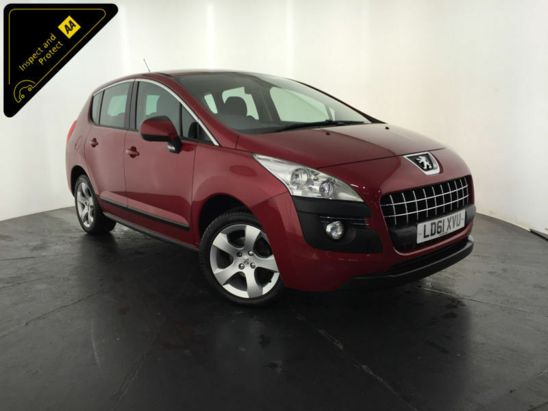 2011 61 PEUGEOT 3008 SPORT HDI DIESEL 1 OWNER SERVICE HISTORY FINANCE PX