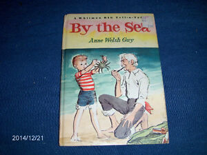 BY THE SEA-1966 WHITMAN CHILDREN'S BOOK-ANNE WELSH GUY