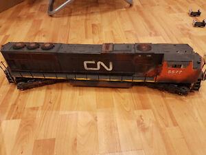 G Scale Engine Lot RC with sound, battery and smoke trains model