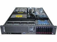 HP PROLIANT DL380 G5 Rack Server, Dual Core, 16 GB, 8 x SAS Disks