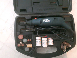 Power grinder peaces included
