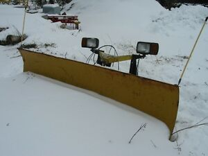 8 Ft Western Snow Plow- Complete