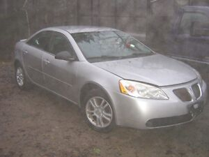 Parting out  2005 Pontiac G6