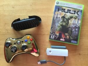 Manette Gold, Tchatpad, Chargeur, Wifi, Hulk, Kinect…