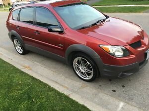 "Pontiac Vibe 18"" summer wheels, brand new 16"" snows-read the ad"