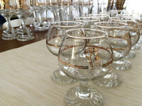 41-piece Glassware Set - Collectible 1988 Calgary Olympics