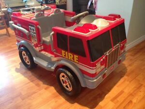Ride on Fire Truck
