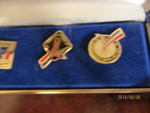 5 Collector Pins in Box - 1994 Vancouver Commonwealth Games Moose Jaw Regina Area image 4