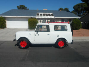 1965 INTERNATIONAL SCOUT 50