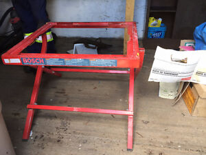 BOSCH Folding Table Saw Stand