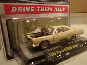 M2 MACHINES - DETROIT MUSCLE - 1969 PLYMOUTH ROAD RUNNER