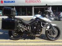 2016 Triumph Tiger 800 XRT 1800 miles Fully loaded