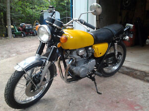 1971 CB350 and lots of parts