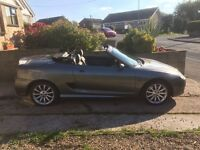 Mg tf 160 04 plate sport low mileage