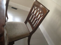 4chair set dining room table