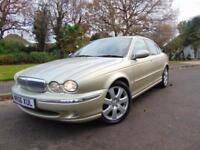 SUPERB 2006 DIESEL JAGUAR X-TYPE 2.2D SE FULL SERVICE HISTORY SUPERB EXAMPLE
