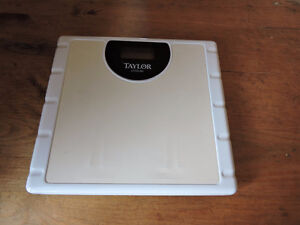 Weight scale - Taylor Precision electronic scale
