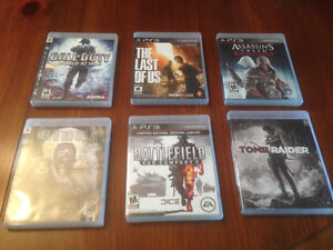 PS2 and PS3 games for sale
