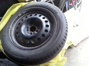 235-60-18 Winter tire and rims
