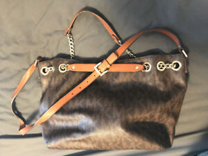 Michael Kors Brown Logo Purse