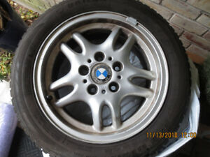BMW Mounted Snow Tires