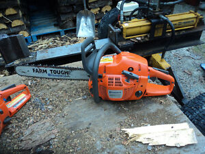 Used running Chainsaws