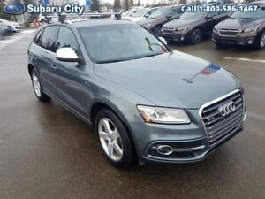 2014 Audi Q5 3.0T quattro Technik,SQ5,AWD,LEATHER,SUNROOF,NAVIGA