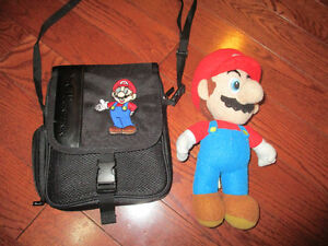 Super Mario Plush toy and Ninendo Ds carrying case Kitchener / Waterloo Kitchener Area image 1