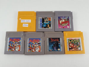 Gameboy / GBC / GBA loose games for sale