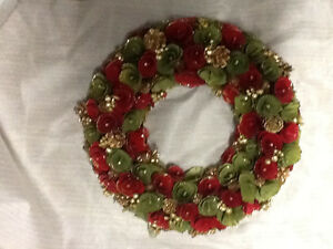 Christmas Wreath, thin wood