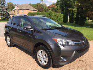 2015 AWD Toyota RAV4 with LE UPGRADE PACKAGE