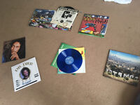 Various Vinyl Records (pictured)