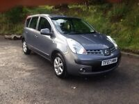 Nissan note 1.4 se 2007 mot Feb 2017 like zafira scenic