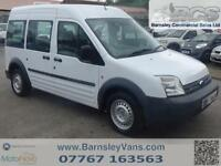 2009 09 FORD TRANSIT CONNECT TOURNEO HIGH ROOF EX COUNCIL CREW