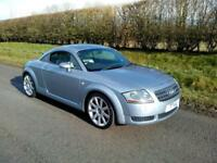 2003 AUDI TT COUPE 1.8 QUATTRO 4X4 ( 225BHP ) SILVER/GREY, LEATHER