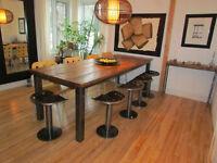 Table de salle à manger directement de l'artisan !