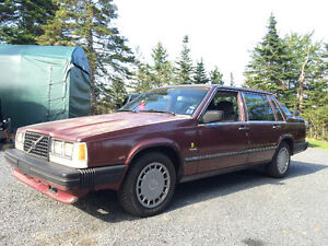 *REDUCED* 1989 Volvo 740 GL - Turbo engine + manual trans incl