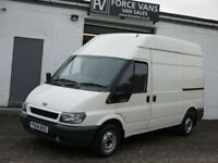 FORD TRANSIT 280 2.0 100BHP MWB HIGH TOP PANEL DELIVERY LOGISTICS DAY VAN