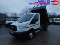 FORD TRANSIT 2.2TDCI T350 TIPPER VERY CLEAN 15 PLATE NEW SHAPE TRUCK, REAL VALUE