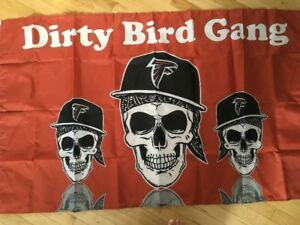 Rare Atlanta Falcons 3 x 5 Flag... Brand New