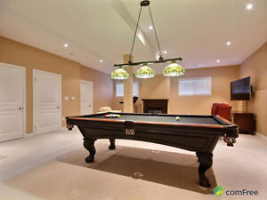 Brunswick Slate Pool Table Model Glenwood retail $4500 4' x 8'