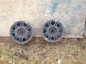 "15"" aluminum wheels 5x100mm"