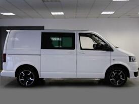 2014 Volkswagen Transporter 2.0 BiTDI 180PS Sportline Kombi Van Diesel white Man