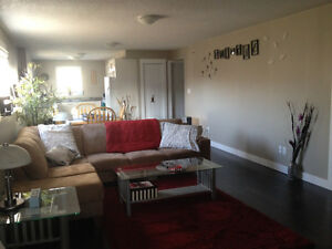 1 bedroom daylight basement suite can be furnished
