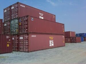 20ft & 40ft Shipping and Storage Containers